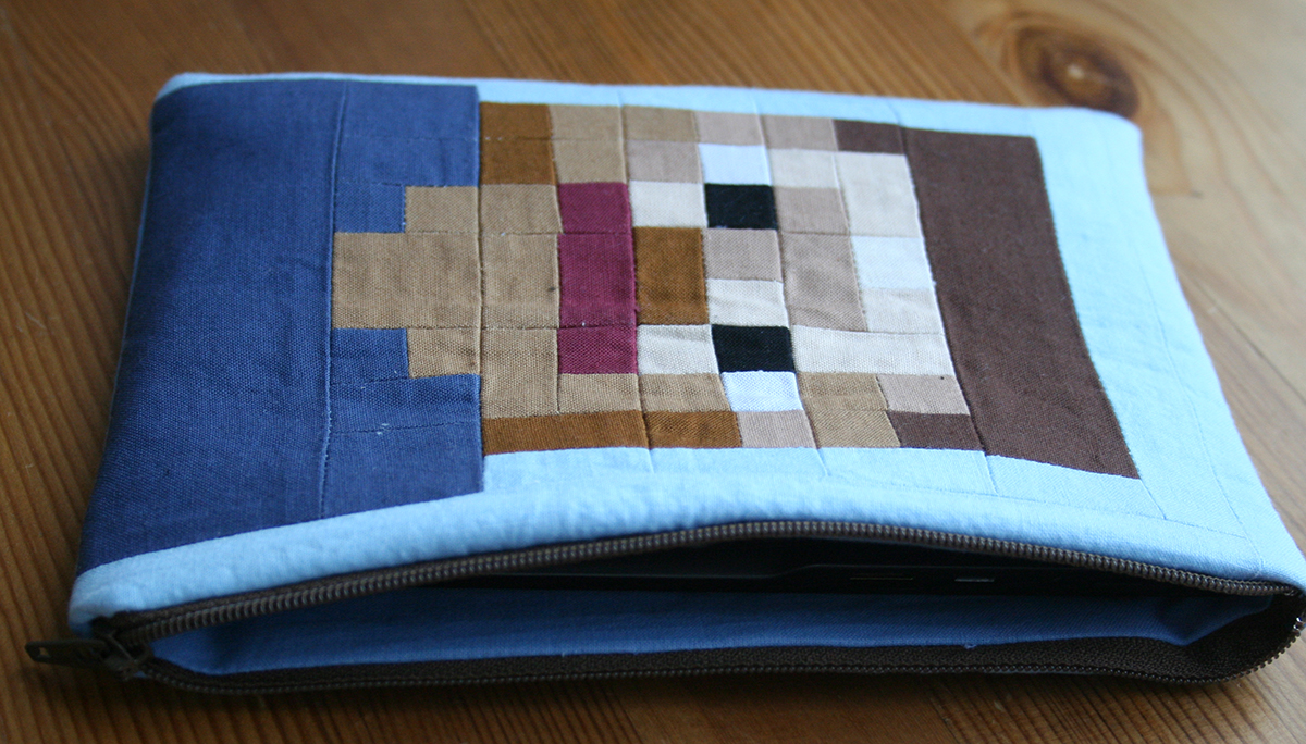 Tangible Pursuits: Minecraft Tablet Case
