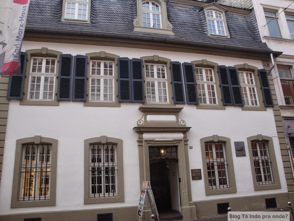 Casa de Karl Marx em Trier, Alemanha