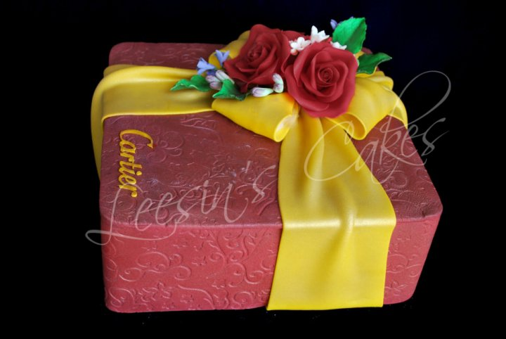 Penang Wedding Cakes By Leesin Solitaire Ring Cake