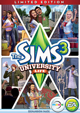 The Sims 3 University Life-FLT