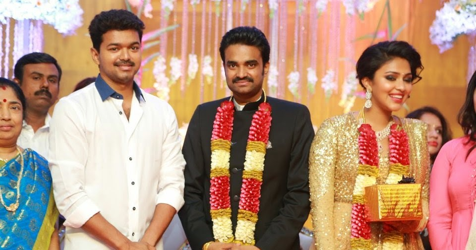 amala paul wedding reception photos stills gallery
