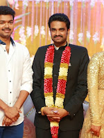 Vijay Amala Paul wedding reception photos-cover-photo
