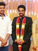 Vijay Amala Paul wedding reception photos-cover-photo