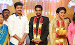 Vijay Amala Paul wedding reception photos-thumbnail