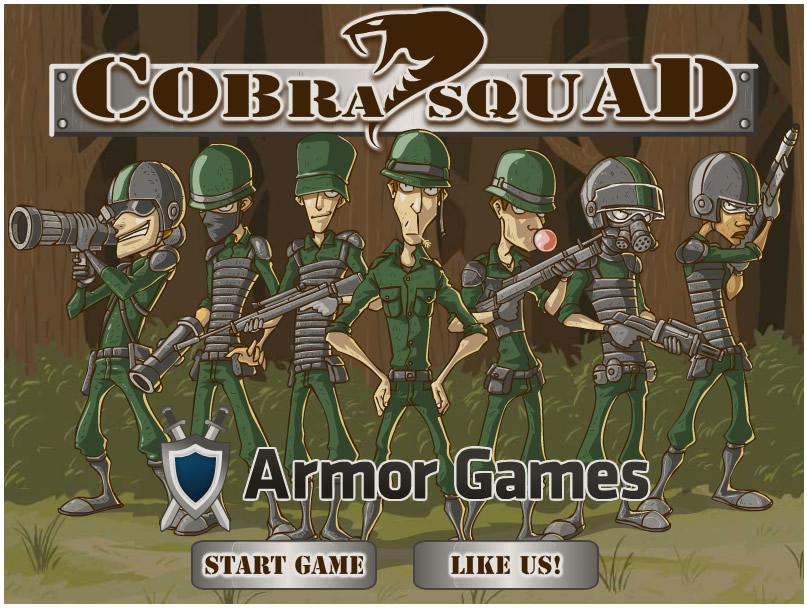 Armor Game : Cobra Squad