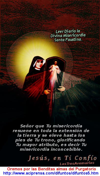 jesus y santa faustina