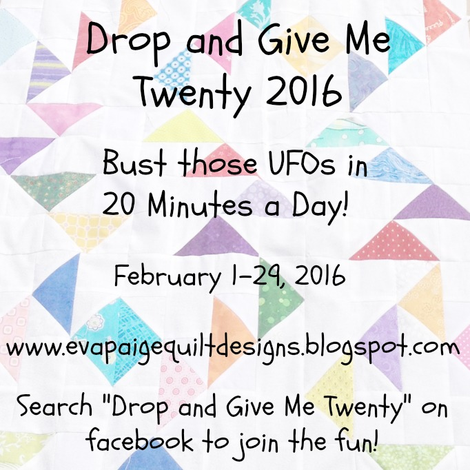 Drop and Give Me Twenty 2016
