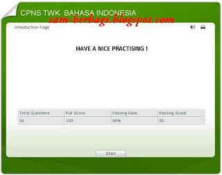 CPNS TWK Bahasa Indonesia