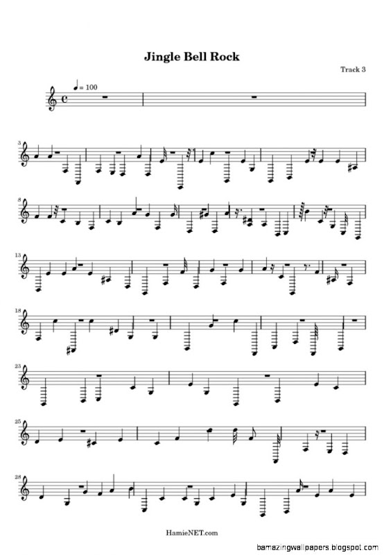 Jingle Bell Rock Sheet Music   Jingle Bell Rock Score •