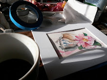 On my art table