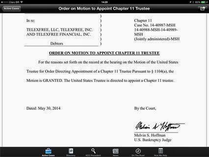esse é o documento, referente a assinatura do juiz