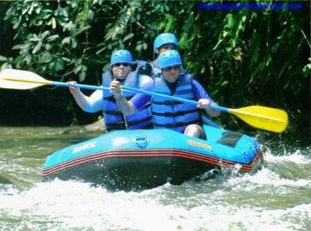 Rafting en el Ayung River de Ubud Bali
