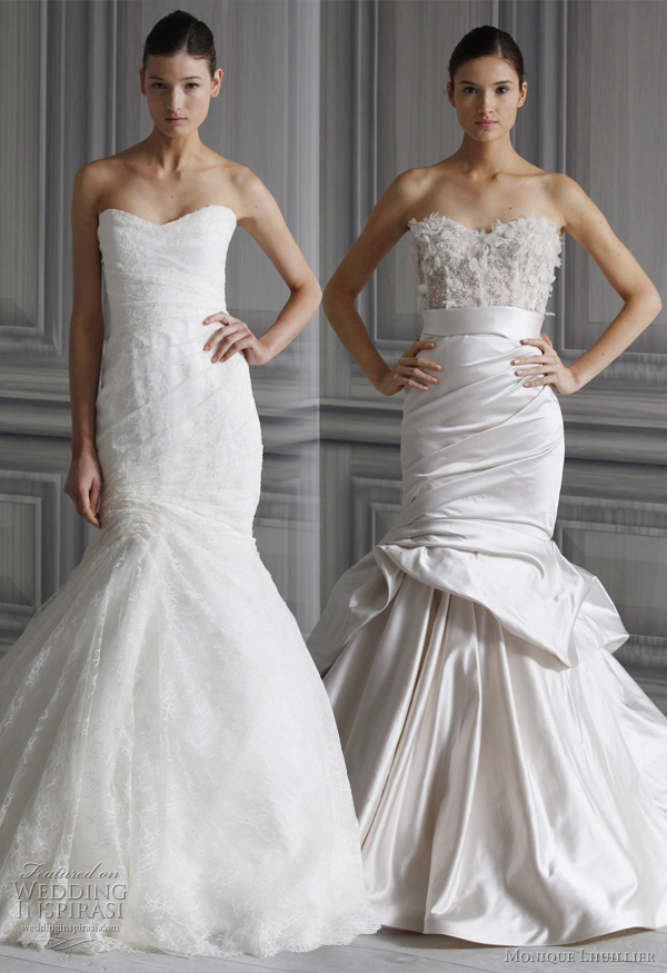 Monique Lhuillier Wedding Dresses Spring 2012 Bridal Collection Wedding Am
