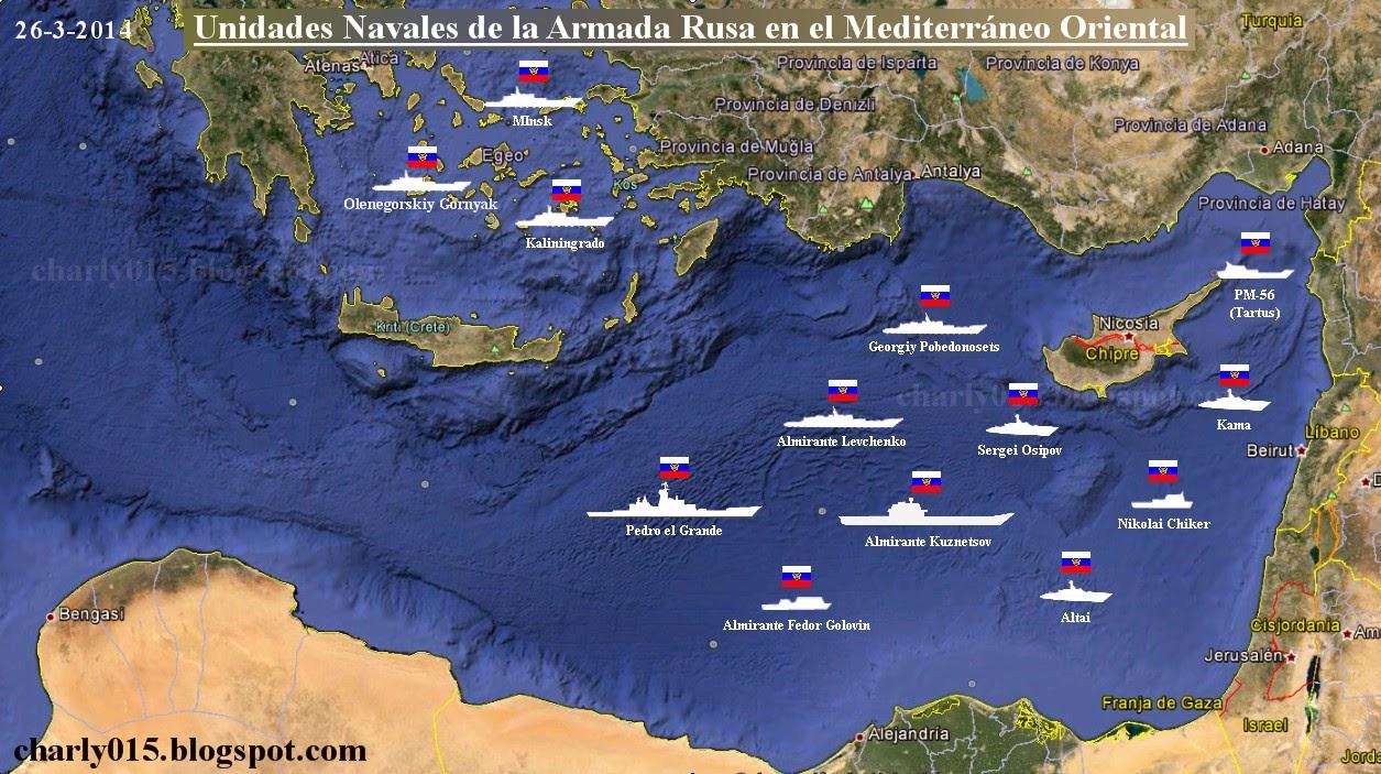Russian Navy: Status & News #1 - Page 40 Armada+rusa+med+26-3-2014