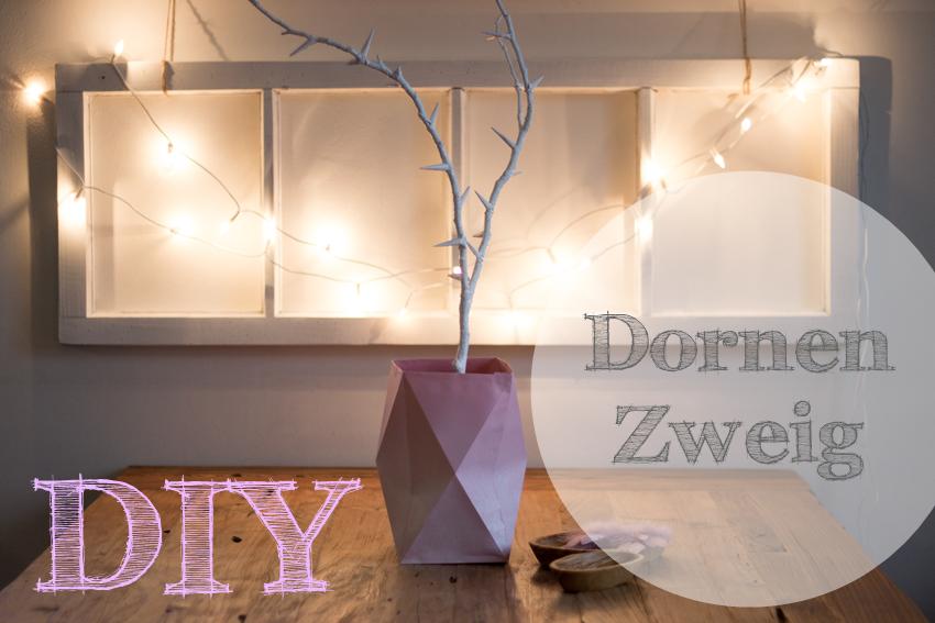 DIY Dornenzweig