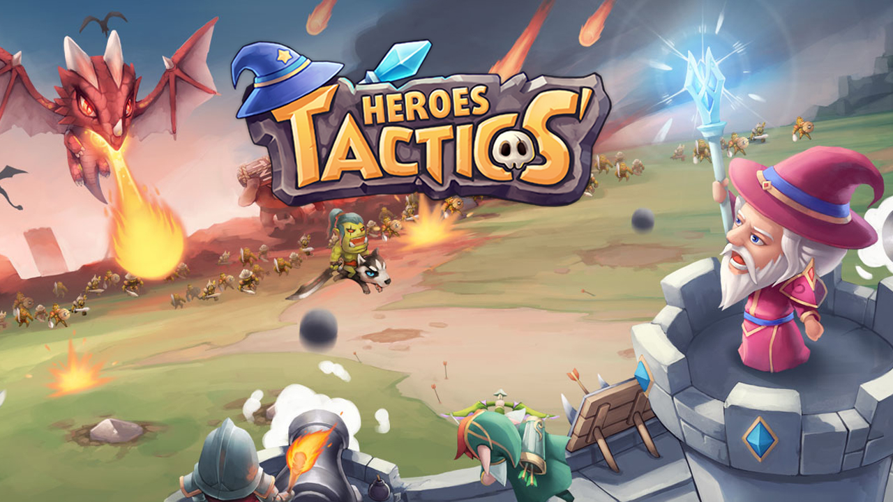 Heroes Tactics & Strategy HTS Gameplay IOS / Android