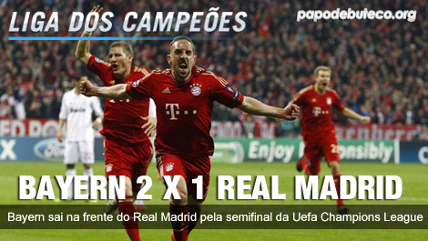 BAYERN DE MUNIQUE 2 X 1 REAL MADRID