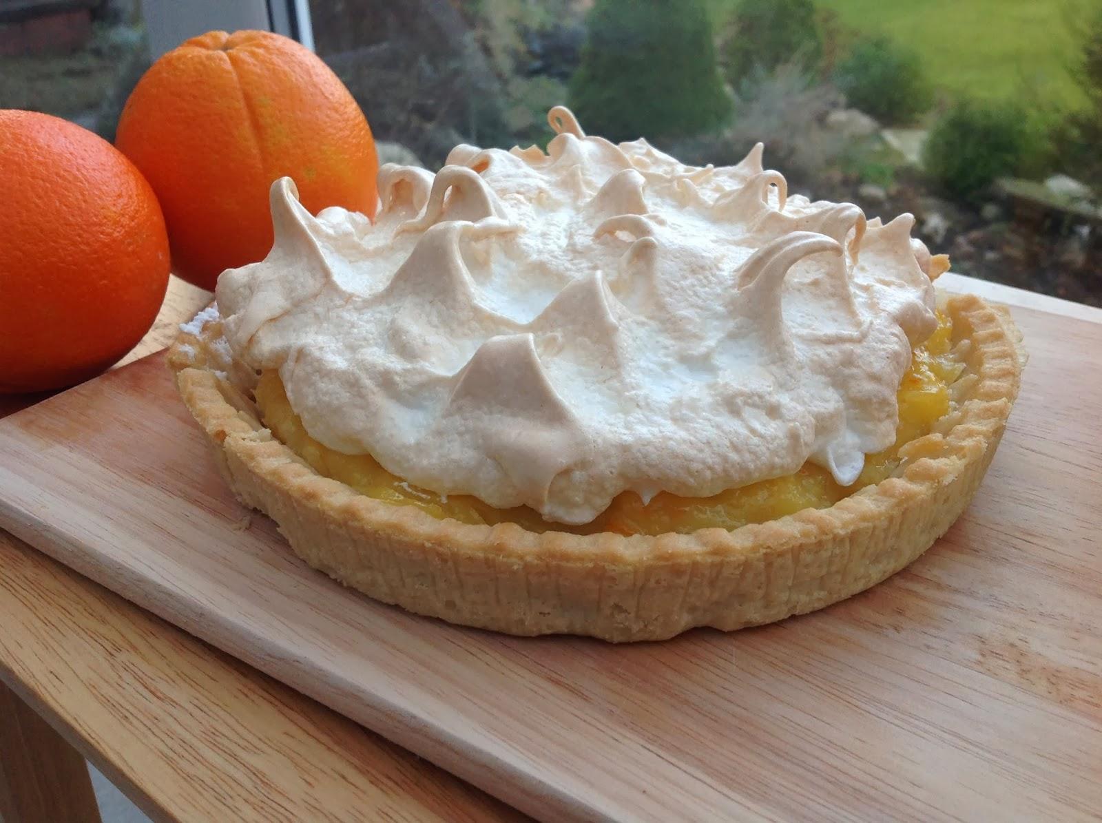 Orange Meringue Pie Recipe — Dishmaps