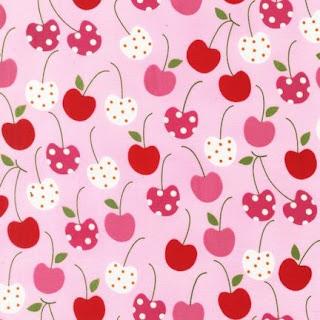 Fondo de cerezas