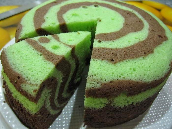 Resep kue bolu pandan lembut enak aneka resep indonesia