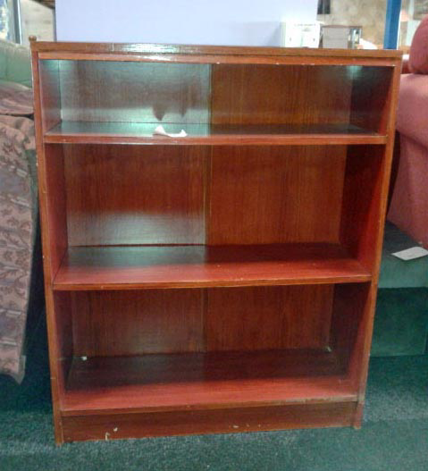 Bookcase from charity shop