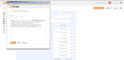 código en HTML/Javascipt