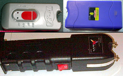 Stun Guns Discvoered at (L-R) ATL, OMA, SFO