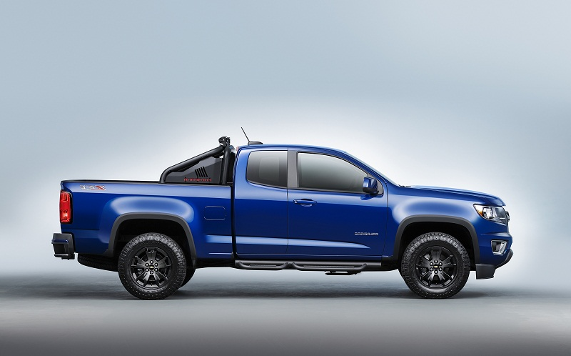 2016 Chevrolet Colorado's Midnight Edition and Z71 Trail ...