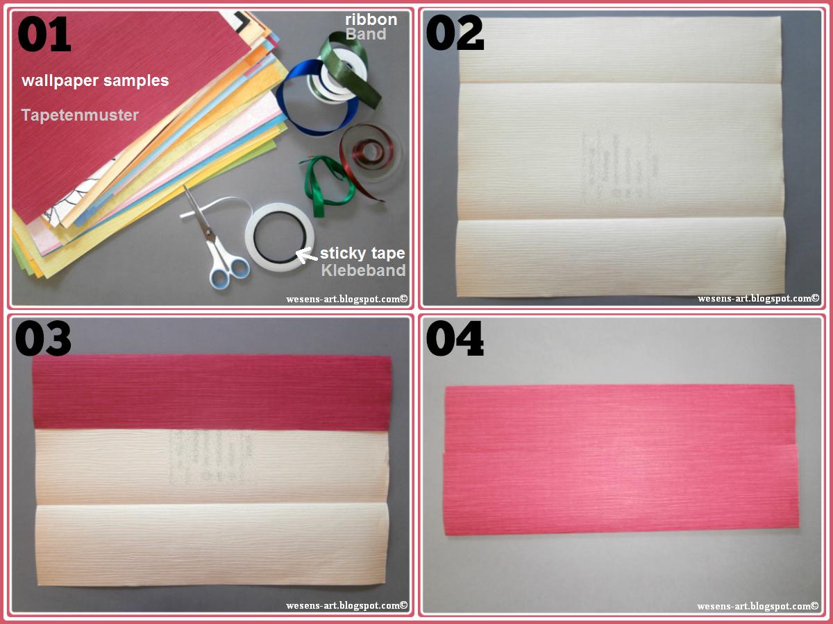 wesens art wallpaper samples gift bags. Black Bedroom Furniture Sets. Home Design Ideas