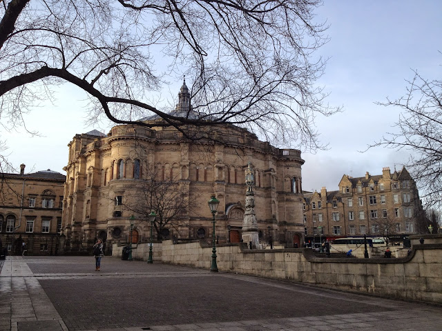 McEwan Hall, Bristo Square, Edinburgh University