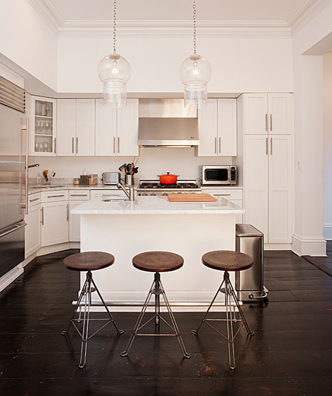 White Hardwood Floors