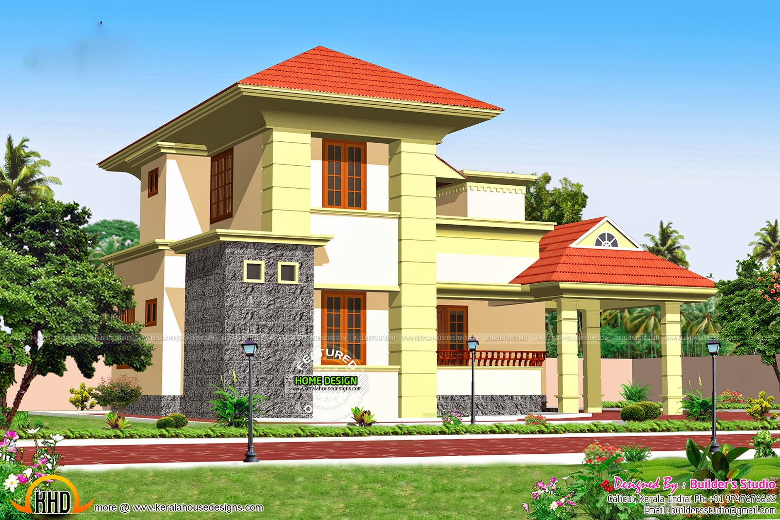 New House Plans For March 2015 Keralahousedesigns