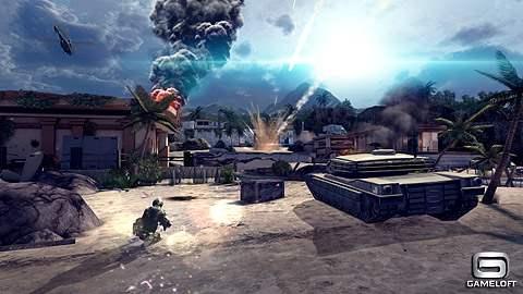 Modern Combat 4 - Zero Hour HVGA e WVGA ARMv7 Offline (+Gameplay no