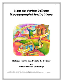 College Recommendation Letters helpful hints
