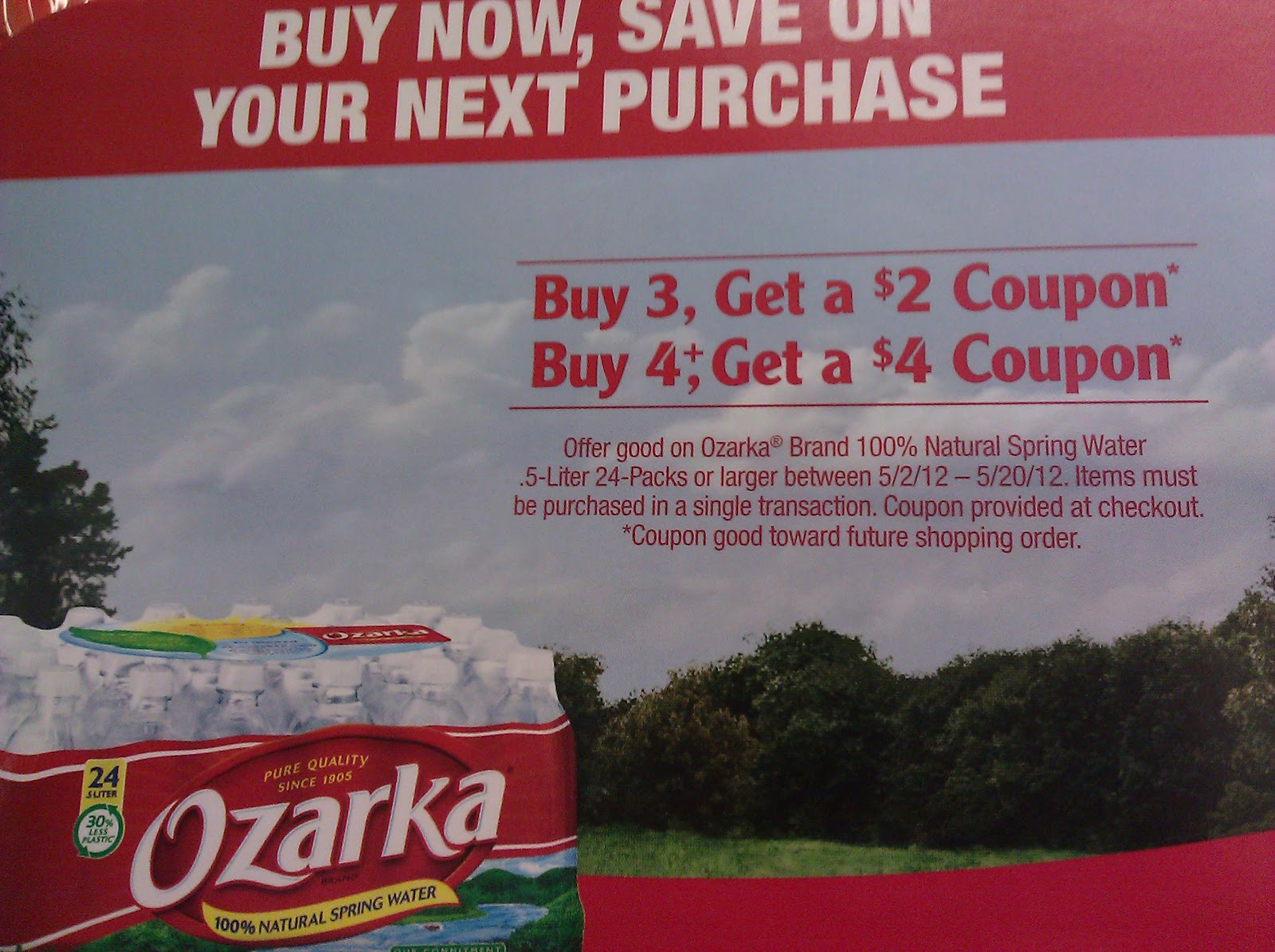 Ozarka coupons