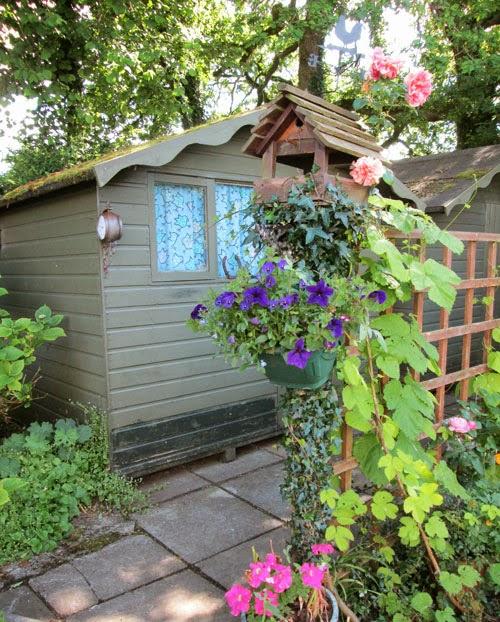 secret shed in wales
