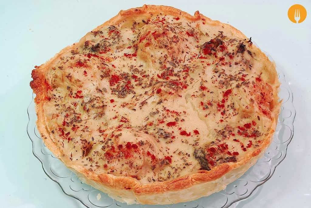 Quiche casero de coliflor y br coli v deo y receta f cil for Quiche de verduras facil
