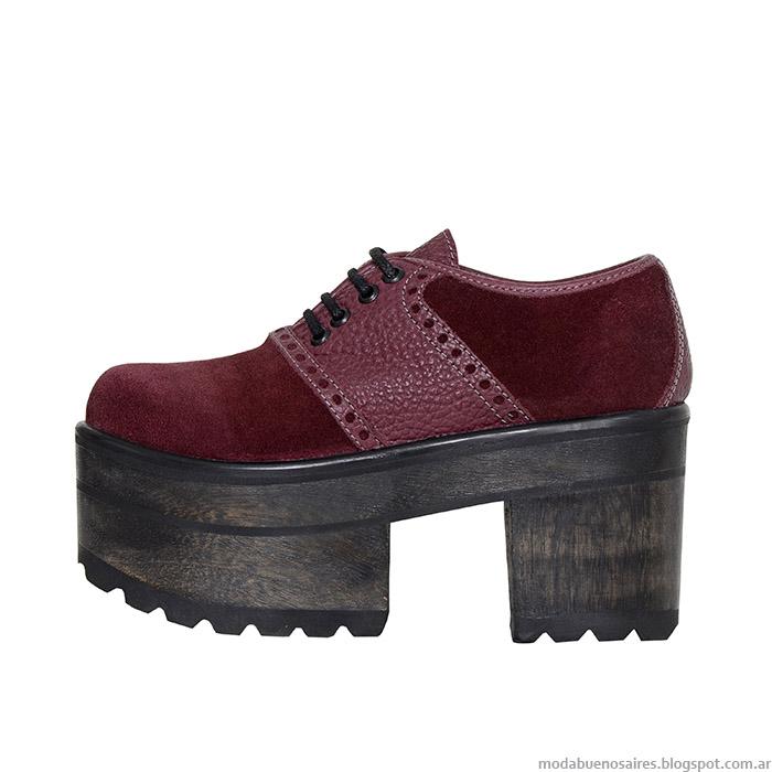 Zapatos L'Tau otoño invierno 2015.
