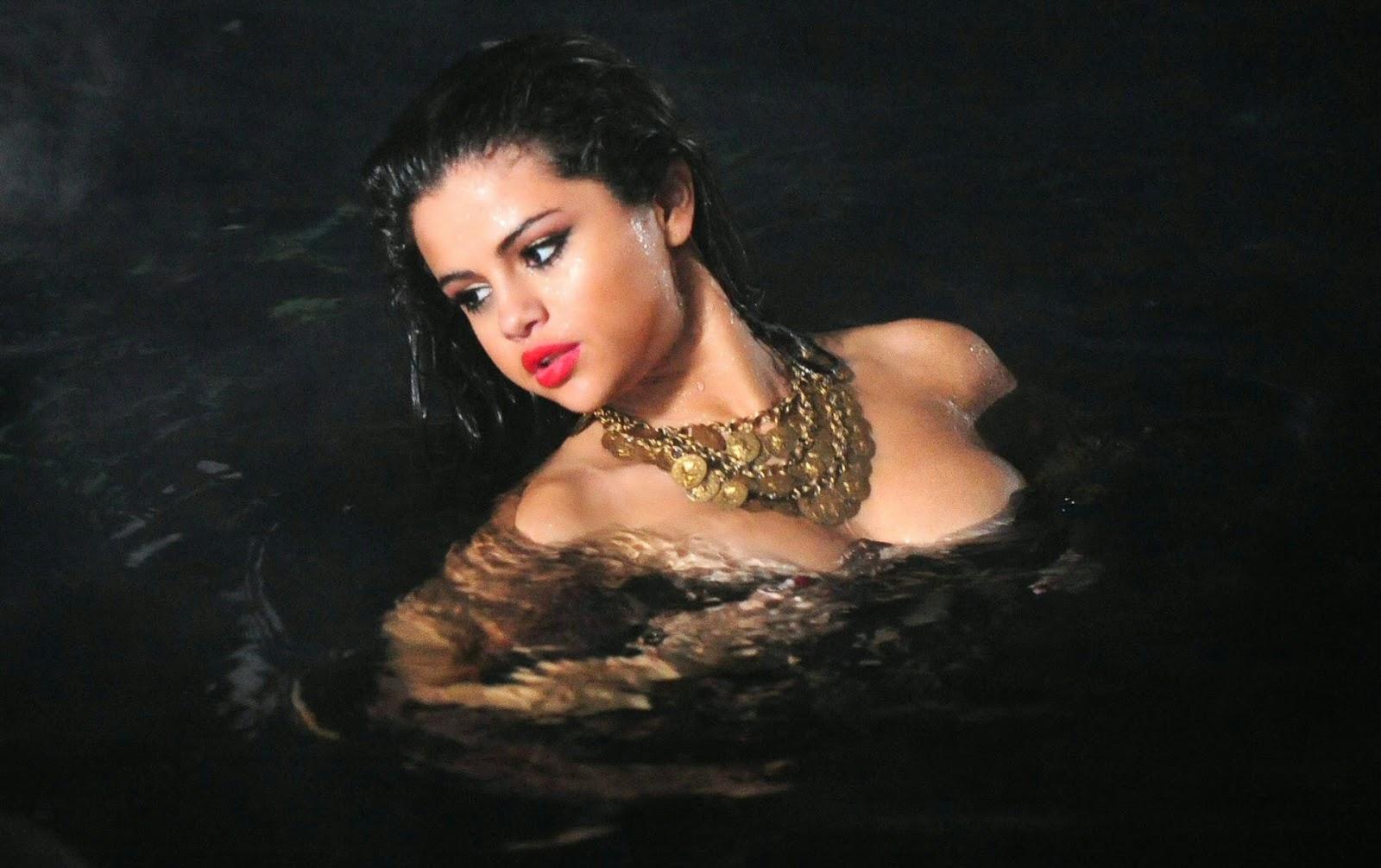 Selena gomez hard nipples