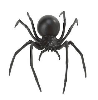 walking spiders widow states maps directions map black