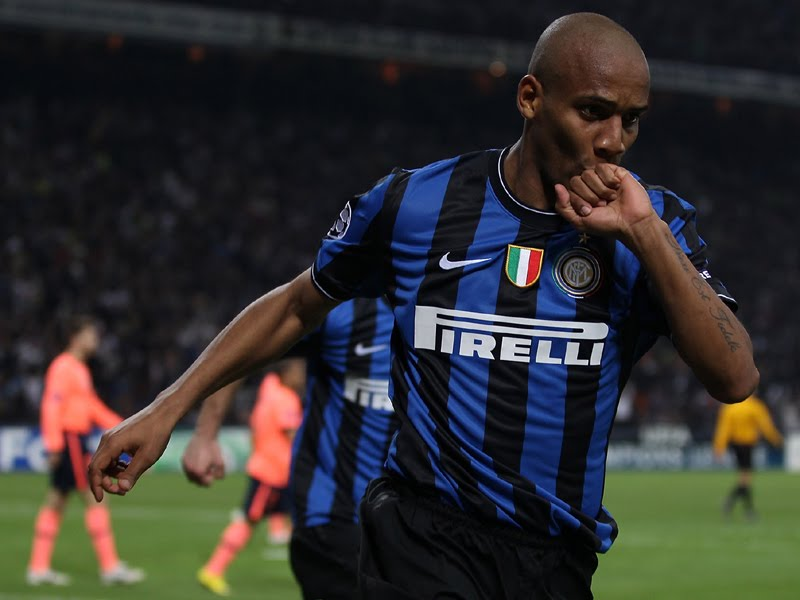 Inter Milan Vs AC Milan - Maicon: Laga Derbi Selalu Spesial