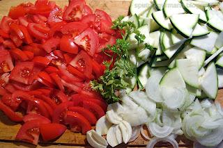Пенне с овощами - приготовление