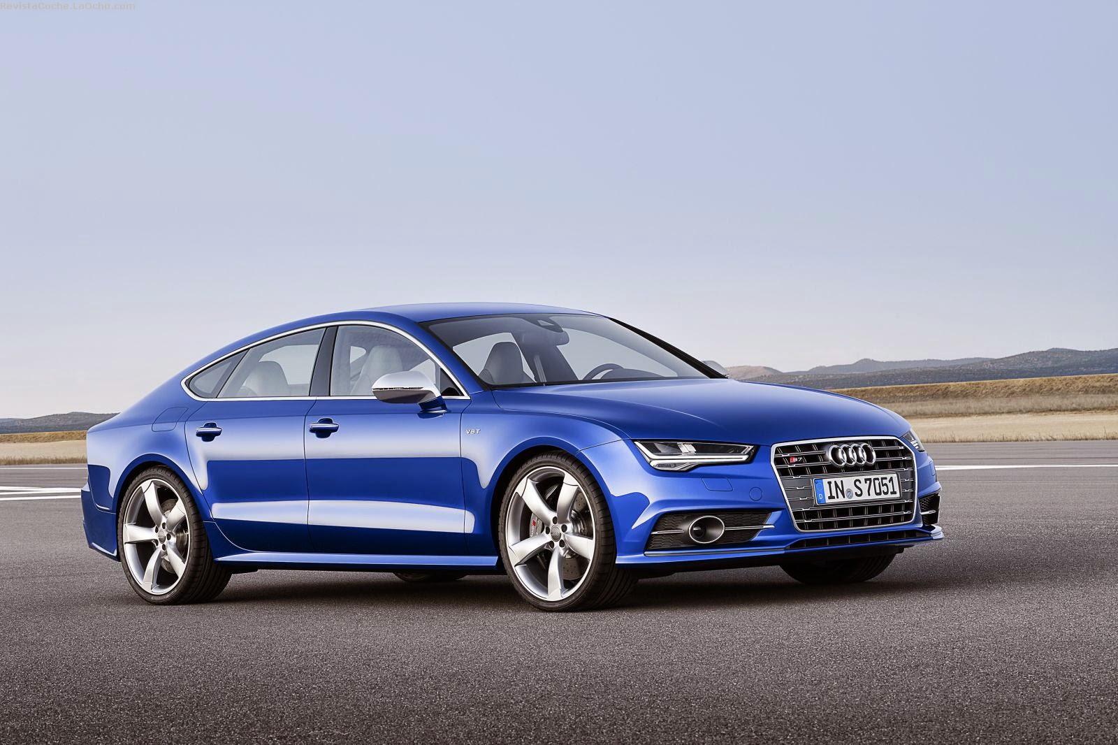 revista coche nuevo audi a7 sportback 2015. Black Bedroom Furniture Sets. Home Design Ideas