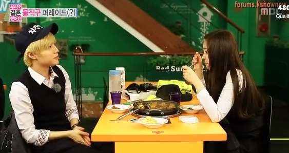 taemin naeun dating after wgm #1 【wgm】 minho says taemin never washes the dishes in their dorm naeun said that taemin washes the dishes and even cut fruits (at their house) minho looks extremely surprise.