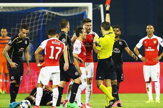 Dínamo Zagreb 2 x 1 Arsenal - Grupo F / Champions League 2015/16