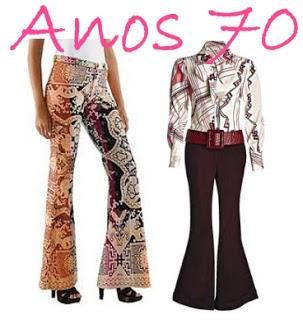 Democratiza o da moda liberdade para se vestir d cada - Moda hippie anos 70 ...