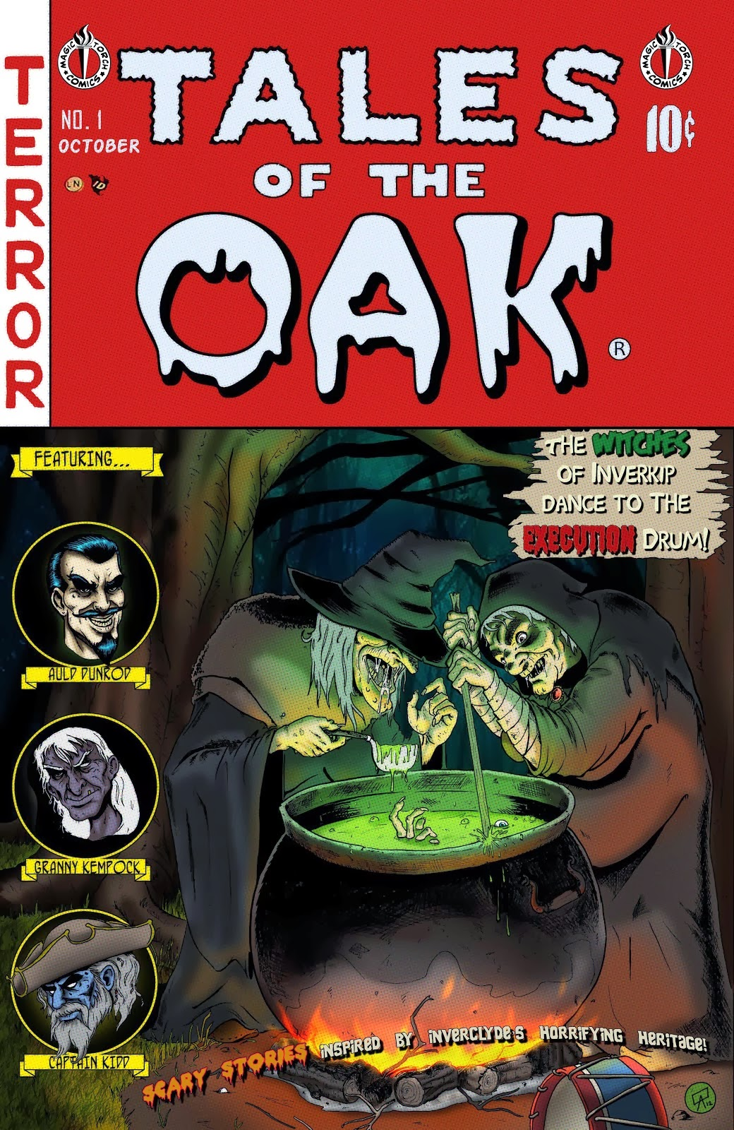 Tales of the Oak Comic