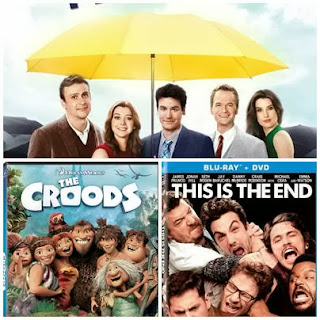 new dvds, how i met your mother, the croods, this is the end