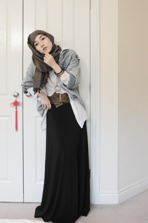 Hot hijab by hana tajima diary of shabrina habi syarafah Hijab fashion style hana tajima