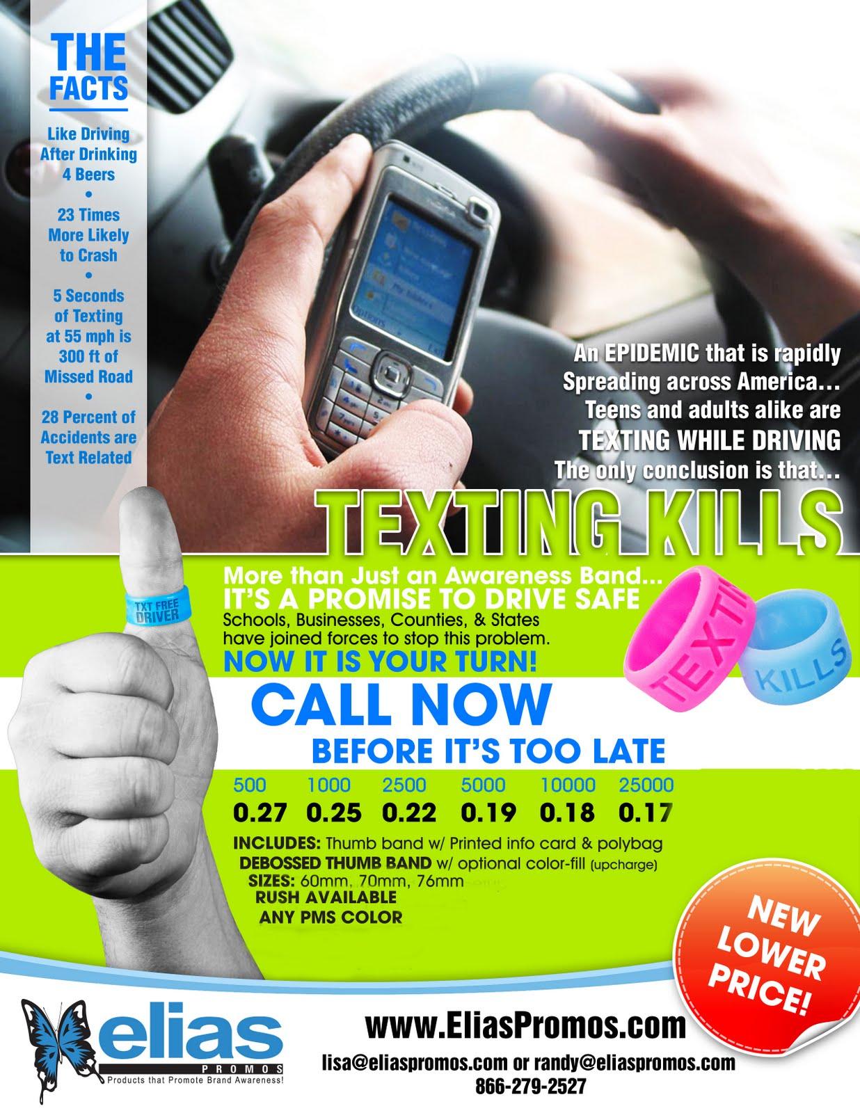 Txting And Driving Thumb Rings